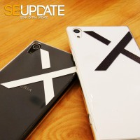 เคส【SE-Update】Xperia X Style Exclusive Shield (Transparent Edition) + Ring Holder