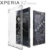 เคส Xperia XZ Premium Anti-Shock Protection TPU Case [Gamer illustration]