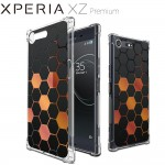 เคส SONY Xperia XZ Premium Polygon Series 3D Anti-Shock Protection TPU Case [PG002]