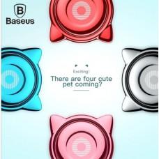 Baseus Cat Ear Ring Bracket แหวนล็อคโทรศัพท์กับนิ้ว 360 องศา