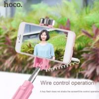 HOCO K3 Selfie Stick Monopod Wire Control Camera Shutter