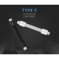 สายชาร์จ แบบสั้น MOMAX Go-Link Type-C to Type-C Short Cable