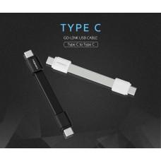 สายชาร์จแบบสั้น MOMAX Go-Link Type-C to Type-C Short Cable