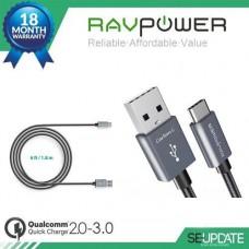 [ของแท้] สายชาร์จ Ravpower USB Type C to Standard Type A USB Cable ยาว 1.8 เมตร