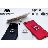 เคส SONY Xperia XA1 Ultra Mercury Goospery i-Jelly & Ring+ TPU Case
