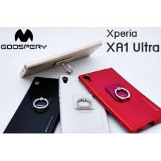 เคส Xperia XA1 Ultra Mercury Goospery i-Jelly & Ring+ TPU Case