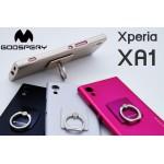 เคส Xperia XA1 Mercury Goospery i-Jelly & Ring+ TPU Case