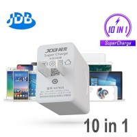 Adapter ที่ชาร์จ JDB SUPER CHARGE 24W Universal 10 in 1 Turbo Charger