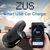 ที่ชาร์จไฟในรถยนต์ Nonda ZUS Smart Car Locator & USB Car Charger พร้อมระบบค้นหารถแบบอัจฉริยะ