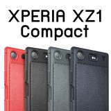 เคส Xperia XZ1 Compact IVSO Gentry Series Leather TPU Case