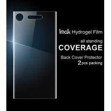 ฟิล์ม Hydrogel Imak กันรอยด้านหลังแบบลงโค้ง สำหรับ Xperia XZ1 (2 แผ่น)