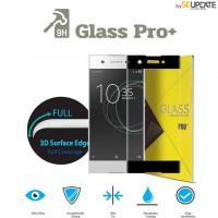 กระจกนิรภัย แบบเต็มจอลงโค้ง GLASS PRO+ 3D Tempered Glass สำหรับ Xperia XA1 Plus
