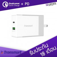Adapter ที่ชาร์จ Tronsmart 48W USB PD Wall Charger with Quick Charge 3.0