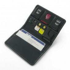 ซองหนังแท้ PDair Genuine Leather Card Wallet (สำหรับใส่ Sim Card , SD Card)