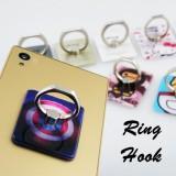 Ring Hook แหวนล็อคโทรศัพท์กับนิ้ว 360 องศา
