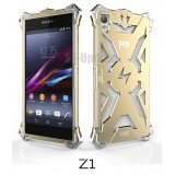 Simon Thor Aviation Aluminum Bumper for Xperia Z1 : สีทอง