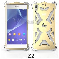 Simon Thor Aviation Aluminum Bumper for Xperia Z2 : สีทอง
