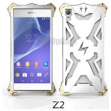 Simon Thor Aviation Aluminum Bumper for Xperia Z2 : สีเงิน