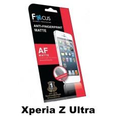 ฟิล์มกันรอยนิ้วมือแบบด้าน(AF-Matte) Focus สำหรับ Xperia Z Ultra