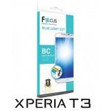 ฟิล์มถนอมสายตา Focus Blue Light Cut สำหรับ Xperia T3 ด้านหน้า