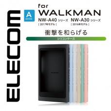 เคส Walkman NW-A45 / A46 / A35 / A36 ELECOM Silicone Case Cover [สินค้าจากญี่ปุ่น]
