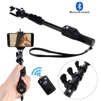 Strong Selfie monopod with Build-in Bluetooth Remote Shutter