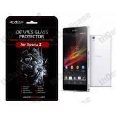 ฟิล์มกระจก  Devilcase Tempered Glass สำหรับ Sony Xperia Z