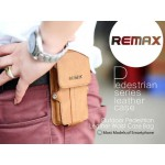 กระเป๋าหนัง REMAX Pedestrian Leather Waist Case