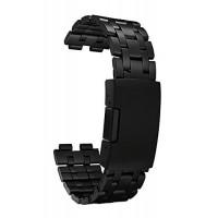 สายนาฬิกาสแตนเลส 22mm Pebble ของแท้ สีดำด้าน