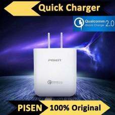 Adapter ที่ชาร์จ Pisen for Qualcomm   Quick Charge 2.0 (QC 2.0)