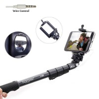 Strong Selfie monopod with Build-in Jack 3.5 Remote Shutter