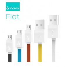 สายชาร์จ USB สายแบน iHave FLAT